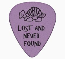 Lost Guitar Pick Purple by PartisanArtisan