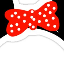 Mouse Ears - Minnie Mouse Sticker