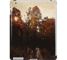 Royal garden sunset iPad Case/Skin