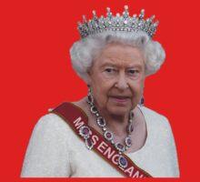 Queen Elizabeth II - Miss England One Piece - Short Sleeve
