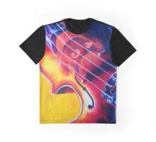 Cello (Colored Pencil) Graphic T-Shirt