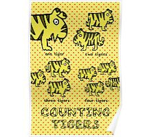 Nits for Kids - Counting Tigers Poster