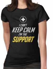 SUPPORT Womens Fitted T-Shirt