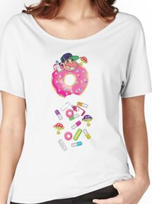 Piñata Pink Molly Donut Women's Relaxed Fit T-Shirt
