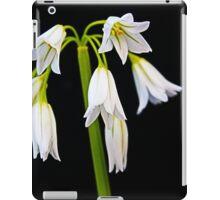 Onion Weed Flower iPad Case/Skin