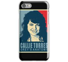 doctor callie torres grey's anatomy iPhone Case/Skin
