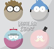 Regular Show: Design 1 by Ghipo