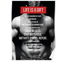 Life Is A Gift Poster