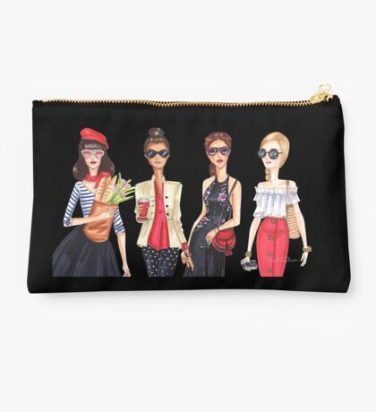 Sunglasses girls, fashion illustrations Studio Pouch