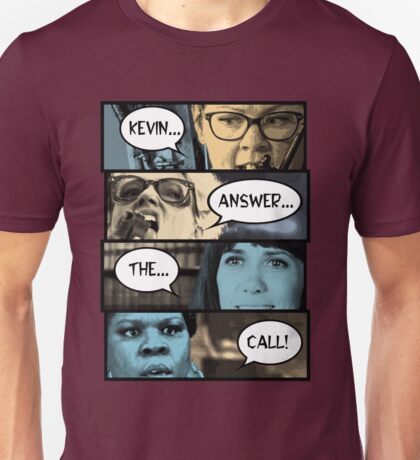 Kevin Answer The Call - Ghostbusters 2016 Unisex T-Shirt