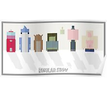 Regular Show: Design 2 Poster