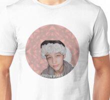 Justin Drew Blake Flower Crown Unisex T-Shirt