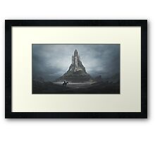 White Castle Framed Print