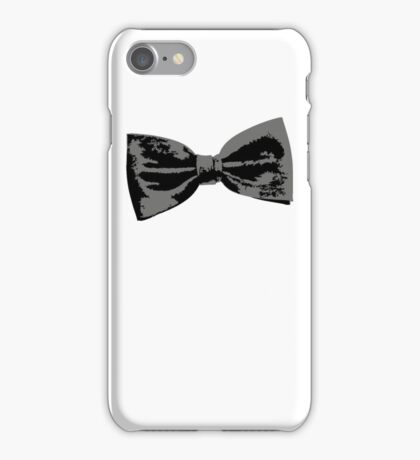 Bow Tie (inclined left) iPhone Case/Skin