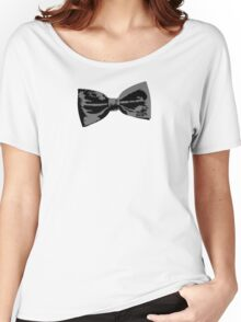 Bow Tie (inclined left) Women's Relaxed Fit T-Shirt