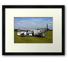 "P-51D Mustang 44-72035 ""Jumpin' Jacques"" Framed Print"
