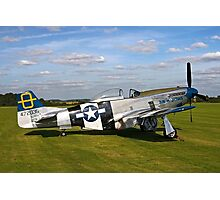 "P-51D Mustang 44-72035 ""Jumpin' Jacques"" Photographic Print"