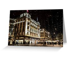Paradeplatz by Night Greeting Card