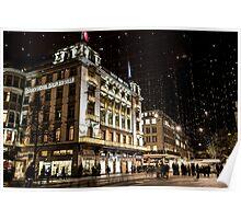 Paradeplatz by Night Poster