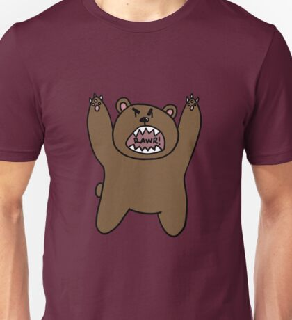 Bear Rawr Unisex T-Shirt