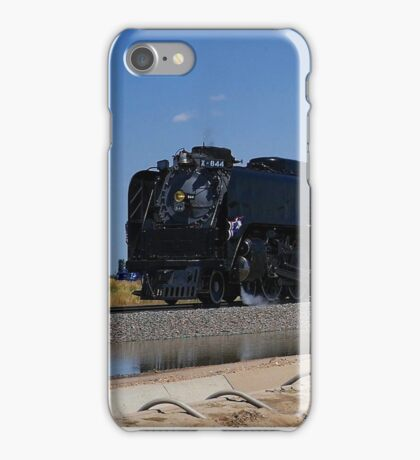 Union Pacific 844 Steam Train iPhone Case/Skin