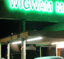 Wigwam Hotel Holbrook Arizona Sticker