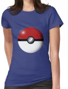 Pokémon red Womens Fitted T-Shirt