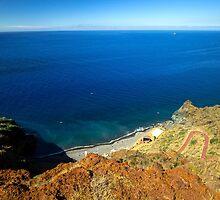 Calm Ocean Coast - Travel Photography  by JuliaRokicka