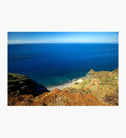 Calm Ocean Coast - Travel Photography  Photographic Print