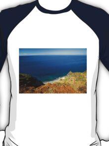 Calm Ocean Coast - Travel Photography  T-Shirt