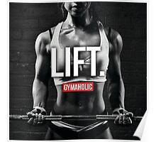 LIFT. Poster