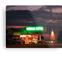 Route Sixty Six Motel in Arizona Metal Print