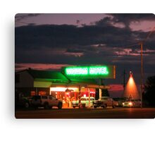 Route Sixty Six Motel in Arizona Canvas Print