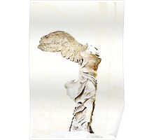 Winged Victory of Samothrace Poster
