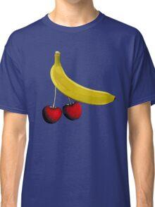 Funny banana and dangly cherries Classic T-Shirt