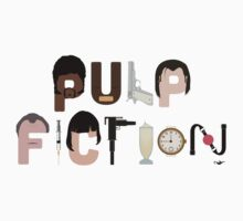 Pulp Fiction Characters by GrantP93