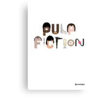 Pulp Fiction Characters Canvas Print