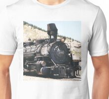 Denver and Rio Grande Western Steam Train Unisex T-Shirt