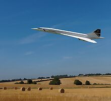 Concorde at Harvest time by ipgphotography