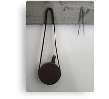 Bottle and Dividers Metal Print