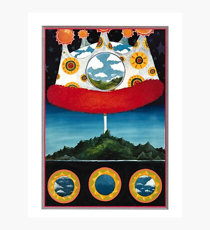 The Olivia Tremor Control - Music from the Unrealized Film Script: Dusk at Cubist Castle Photographic Print