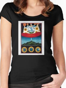 The Olivia Tremor Control - Music from the Unrealized Film Script: Dusk at Cubist Castle Women's Fitted Scoop T-Shirt