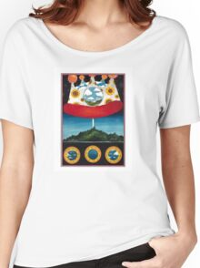The Olivia Tremor Control - Music from the Unrealized Film Script: Dusk at Cubist Castle Women's Relaxed Fit T-Shirt