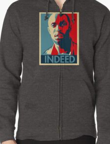 Omar The Wire Indeed Zipped Hoodie