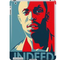 Omar The Wire Indeed iPad Case/Skin