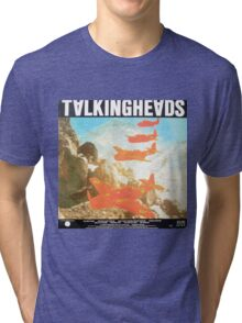 Talking Heads Vinyl Artwork Tri-blend T-Shirt