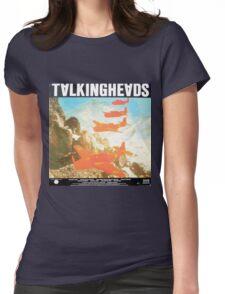 Talking Heads Vinyl Artwork Womens Fitted T-Shirt