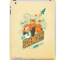 Science!!! It Knows Stuff! iPad Case/Skin