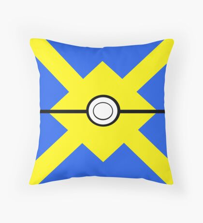 Pokemon - Quickball Throw Pillow