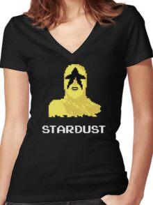 Stardust Women's Fitted V-Neck T-Shirt
